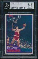 1981-82 Topps rookie #MW74 Bill Laimbeer rc BGS 8.5