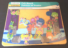 Creatology Cats Rock n Roll Band Felt Activity Board 33 Pc Stage Set Toy Age 4