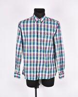 Tommy Hilfiger a Medida Multicolor Hombre Camisa Talla M