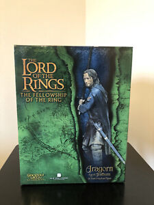 Aragorn Son of Arathorn WETA Sideshow #9314 LOTR Lord of the Rings Figure