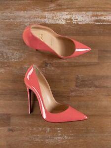 $725 CHRISTIAN LOUBOUTIN So Kate Charlotte pink patent pumps stilettos 6 US / 36