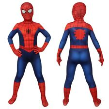 Ultimate Spider-Man Costume Cosplay Suit Kids Peter Parker 3D Printed