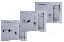 UOMO Zegna 0.05 oz / 1.5 ml edt Mini Vial Spray 3 in pack