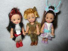 Barbie Doll Kelly Shelly Tommy Ivan Swan Lake Bundle