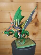 CLASSIC METAL WARHAMMER UNDEAD WIGHT LORD ON ZOMBIE DRAGON WELL PAINTED (L..)