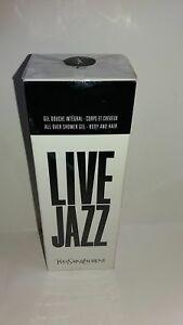 Live Jazz By YSL Shower gel 200ml