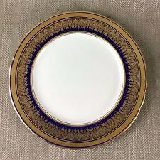 Rare Aynsley Fine Bone China Simcoe Cobalt Blue Gold Dinner Plate 27cm 7410