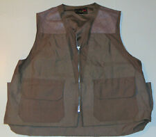 VINTAGE 10-X HUNTING/SHOOTING VEST! TONS OF POCKETS/ZIPPER FRONT! MADE IN USA 50