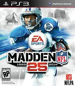 Madden NFL 25 For PlayStation 3 PS3 Football Very Good 0E