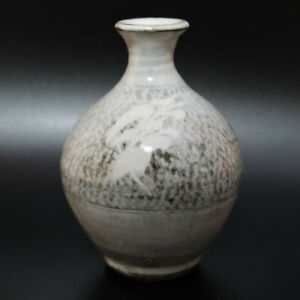 0621c Tatsuzo Shimaoka Japanese Mingei Mashiko Ware pottery Vase