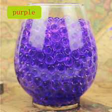 wholesale Water Plant Flower Jelly Crystal Soil Mud Water Pearls Gel Beads Ball