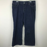 The Limited 312 Dark Denim Blue Jeans Bootcut Leg Stretch 14 Short Petite