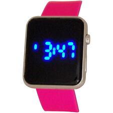 REFLEX unisex LCD Digital Multi Función GOMA Informal Reloj De Pulsera Regalo Él