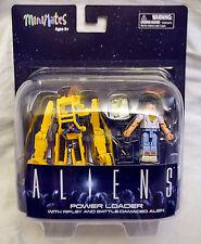 Aliens Power Loader Minimates 2-pack set Featuring Ripley & Battle Damaged Alien