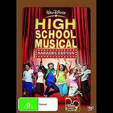 High School Musical Karaoke Version   DVD Region 4 (PAL) (Australia)