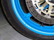 "Genuine Honda rim tape, 17"", CBR logo, silver, 2 wheels, p/n 08F84-KPP-760"