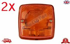 PAIR Tractor 2030-2040  FRONT PARKING LAMP Orange Amber
