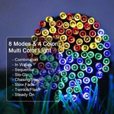200LED Waterproof  Solar String Light Copper Wire Fairy Outdoor Garden Party U S