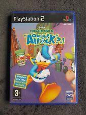Jeu PS2 Donald Duck Quack Attack PAL CD état Neuf et fonctionnel playstation 2