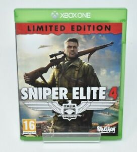 Sniper Elite 4 (Xbox One, 2017) VGC PAL UK - CLEANED AND TESTED