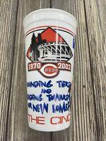 Vintage Cincinnati Reds 1970 2002 White Plastic Beverage Cup Pepsi