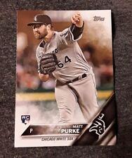 ⚾️2016 topps update MATT PURKE (rookie) baseball card #US103⚾️ *White Sox*
