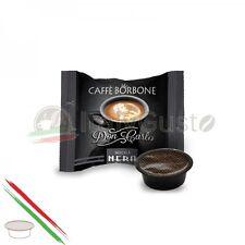100 CAPSULE CAFFE' BORBONE DON CARLO MISCELA NERA COMPATIBILE LAVAZZA A MODO MIO