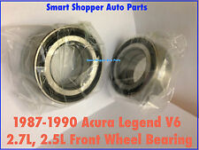 1987 1988 1989 1990 Acura Legend V6 2.7L 2.5L Front Wheel Bearing-Pair (513052)