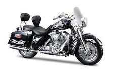 Harley Davidson 2002 FLHRSEI CVO Custom 1:18 azul oscuro - modelo die-cast
