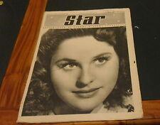CINEMA: STAR ANNO I NR 21 *DICEMBRE 1941* COVER: PEGGY MORAN