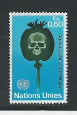United Nations, Geneva # 32 Mnh 1973 Fight Against Drug Abuse