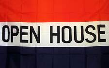 Open House Red White & Blue 3'x5' Flag New Business!