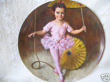 Reco Katie the Tightrope Walker John Mc Clelland Circus Knowles Collector Plate