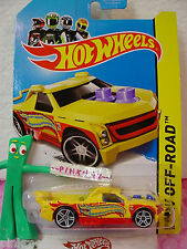 Case A 2013 Hot Wheels FIG RIG #80 US Team✰Yellow; 2014✰Stunt Circuit✰New Model