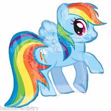 "28"" Magic Pink RAINBOW DASH My Little Pony Birthday Foil Supershape Balloon"