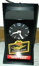 MILLER GENUINE DRAFT MGD ELECTRIC CLOCK