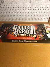 PS3 Guitar Hero III Legend of Rock Box Les Paul Guitar Missing Video Game