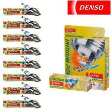 8 - Denso Iridium Power Spark Plugs for 1988-1991 Mercedes-Benz 560SEL 5.6L V8