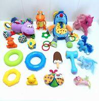 Bundle Lot Baby Sensory Toys Dinosaur Train Buddy T-Rex, Playgro, Lamaze, Ponies