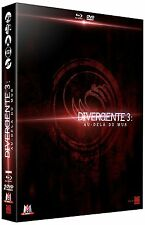 DIVERGENTE 3 AU DELA DU MUR COLLECTOR BLU RAY + DVD  NEUF SOUS CELLOPHANE