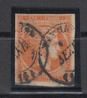 X610/ GREECE – HERMES HEAD – SCOTT # 54b USED – CV 75 $