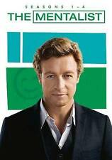 The Mentalist: Seasons 1-4 1,2,3,4 on DVD - Brand new sealed - free shipping!