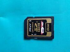 PNY 8GB Optima SD HC 4 Ultra High-Speed High-Capacity Flash Memory P-SDHC8G4-EF
