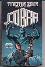 TIMOTHY ZAHN Cobra. Military SF by a Hugo winner. Baen paperback. 1985