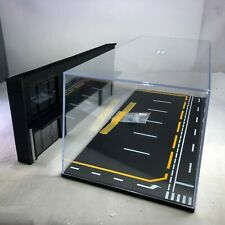 1/64 LB Works modified car shop scene with display case background board and LED