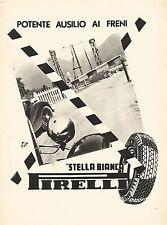 W9359 Pneumatici Stella Bianca PIRELLI - Pubblicità del 1939 - Old advertising