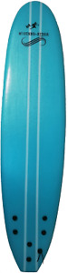 Mustang-Rider Soft board Beginners Surfboard Foam with leash wax fins 7″0ft