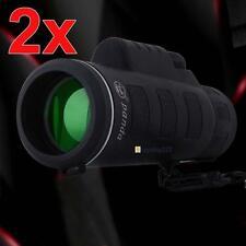 2pc 35x50 Night Vision Adjustable Camping Hiking Hunting Monocular Telescope FT