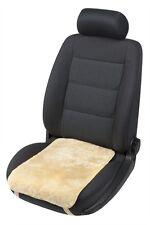weiches Lammfell Auto Sitzkissen beige, Lammfell Sitzauflage, ca. 55x36 cm
