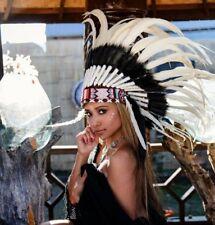 Indianer Halloween War bonnet Indianerschmuck Coiffe Indienne LBH